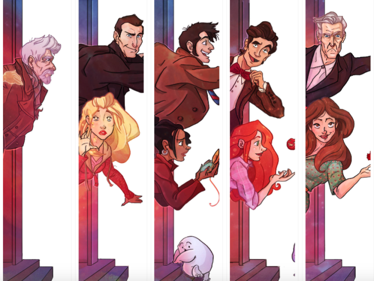 Doctor Who and the Gang