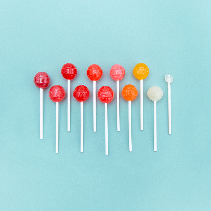 Everyday Objects Arranged In Colours