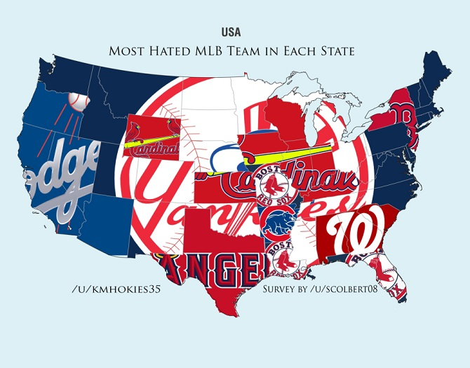 Most Hated MLB Team
