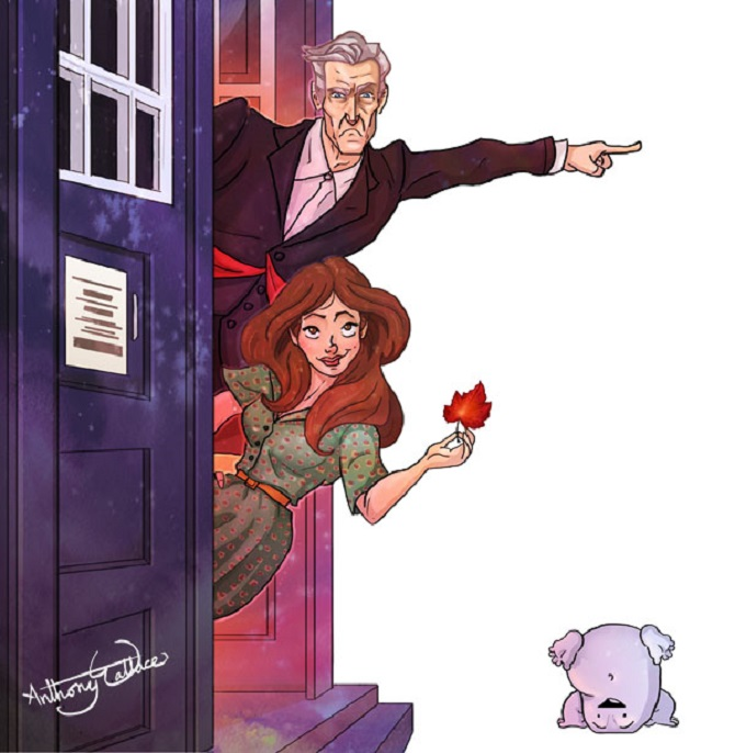The 12th Doctor and Clara Oswald