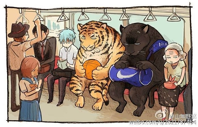 Tiger and Panther