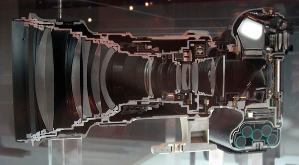 Cannon camera and lens