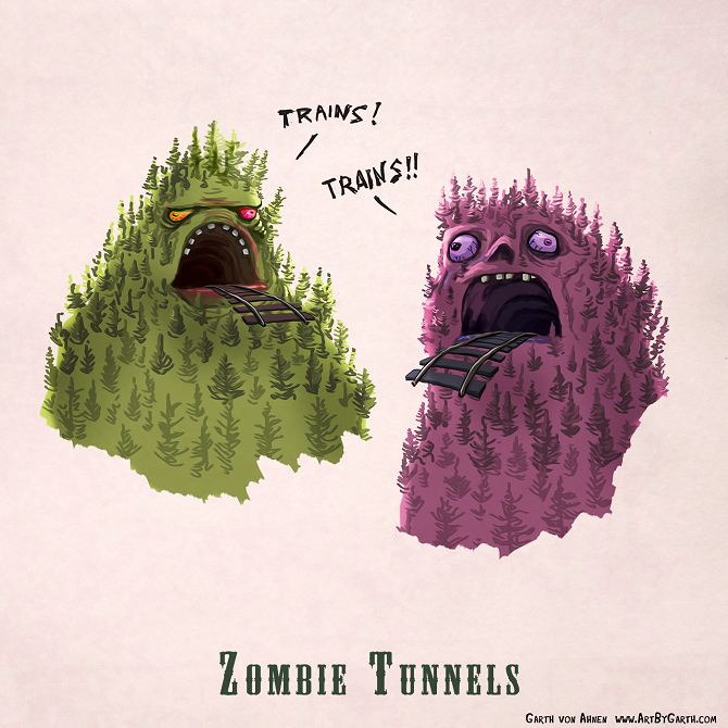 Zombie Tunnels