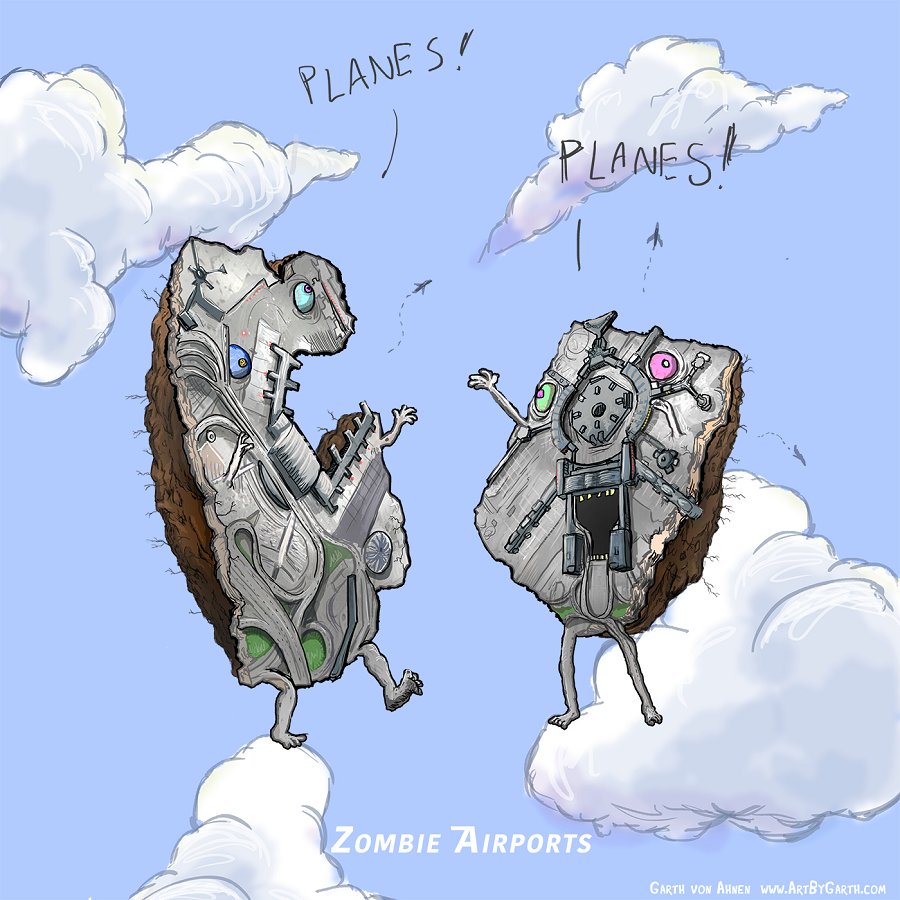 Zombie Airports