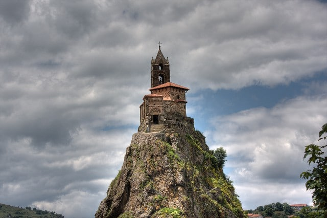 Chapel on a Volcanic Hill