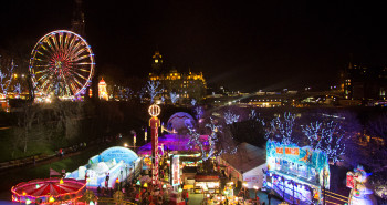 Edinburgh European Christmas Market