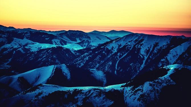Mountains of Sun Valley