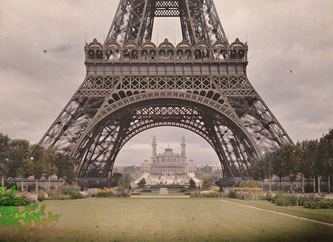 Photos of Paris Taken 100 Years Ago