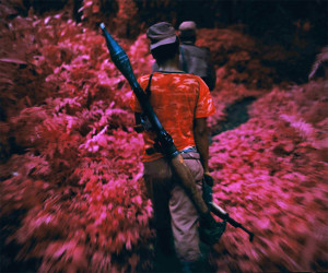 Pink Landscapes Of The Deadly African Congo