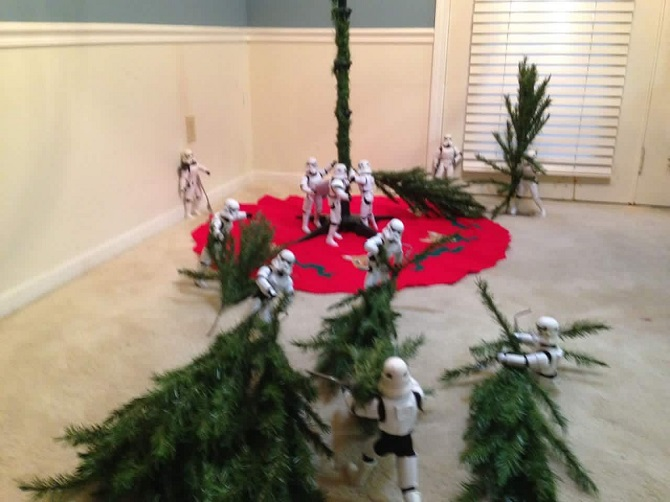 Stormtroopers Decorating