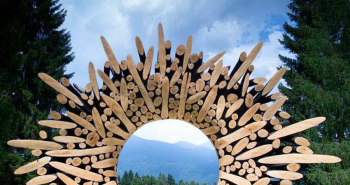 Wood Log Sculptures