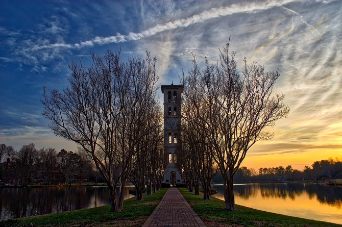 Bell Tower, Greenville