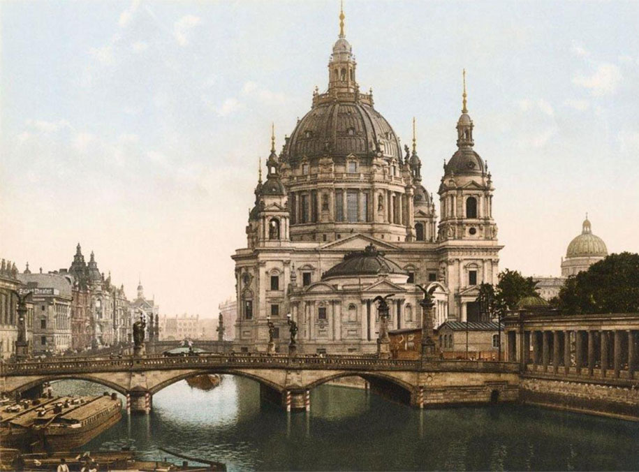 Frederick Bridge and Berlin's cathedral