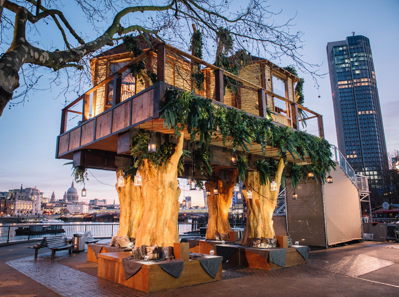 African-Inspired Treehouse