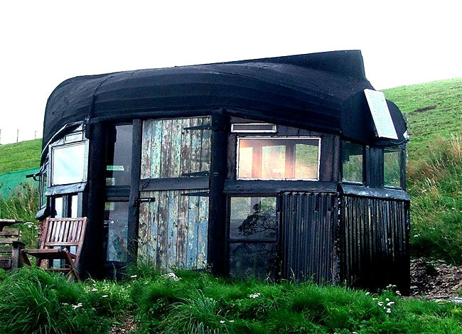 Boat Roofed Shed