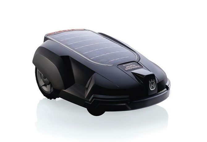 Husqvarna Solar-Powered Robotic Lawn Mower