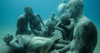 Underwater Sculpture Museum in Lanzarote