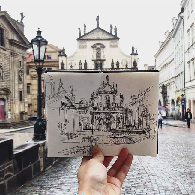 Travel and Sketch