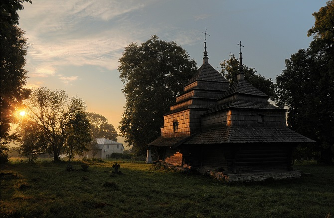 Wooden Church, Czercze