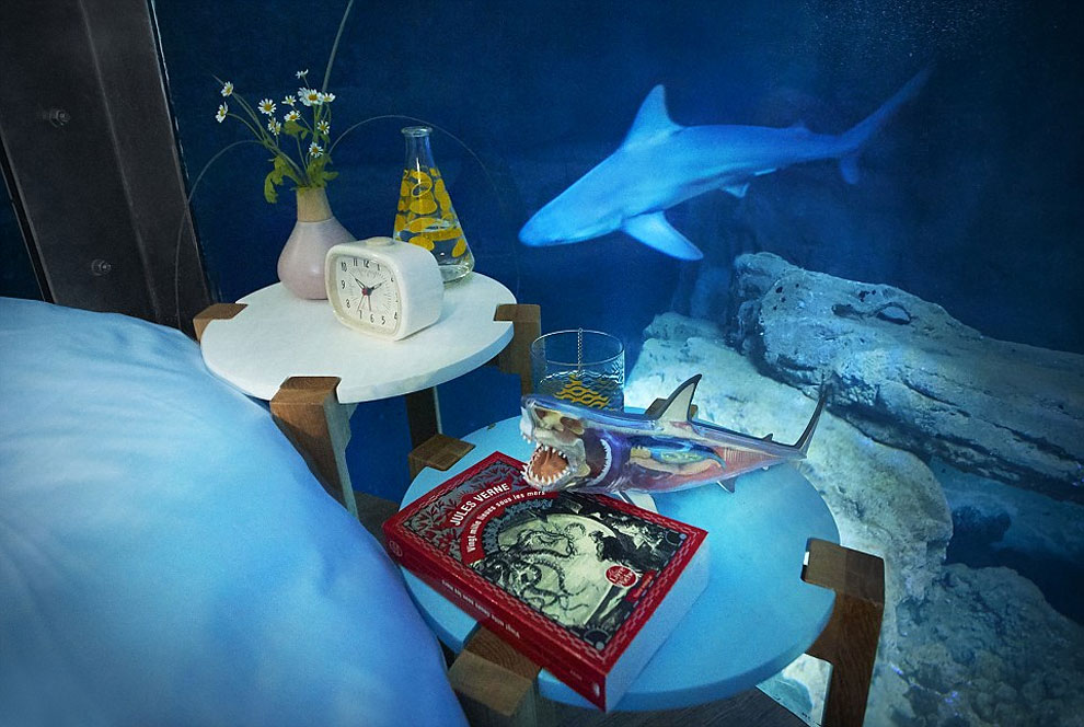 World's first underwater bedroom