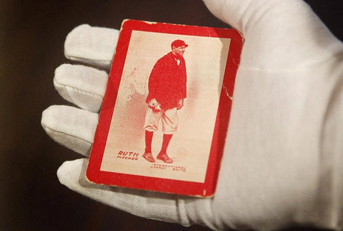 Babe Ruth, 1914 Baltimore News SGC