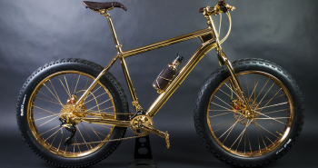 House of Solid Gold 24K Gold Extreme Mountain Bike