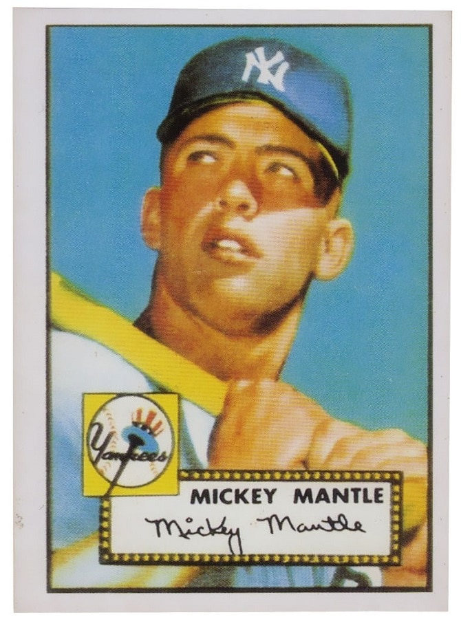 Mickey Mantle, 1952 Topps