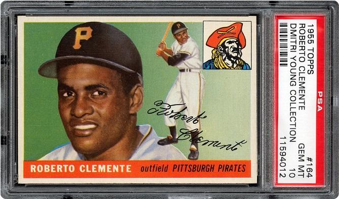 Roberto Clemente, 1955 Topps