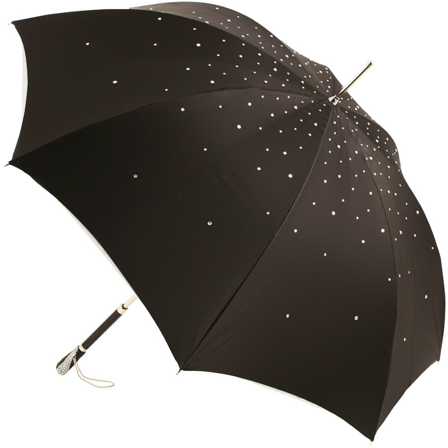 Pasotti Italian Umbrella With Swarovski Crystals