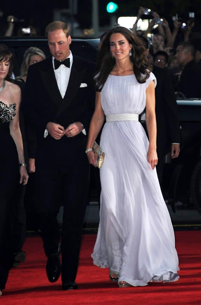 Kate Middleton 2011 Brits to Watch event