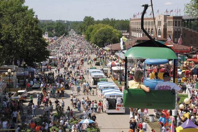 Iowa state fair dates