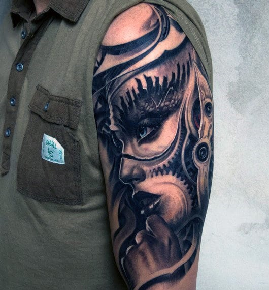 Good Half Sleeve Tattoos For Guys: 40 Most Awesome Half Sleeve Tattoos For Men