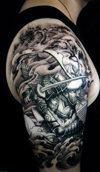 40 Most Awesome Half Sleeve Tattoos For Men