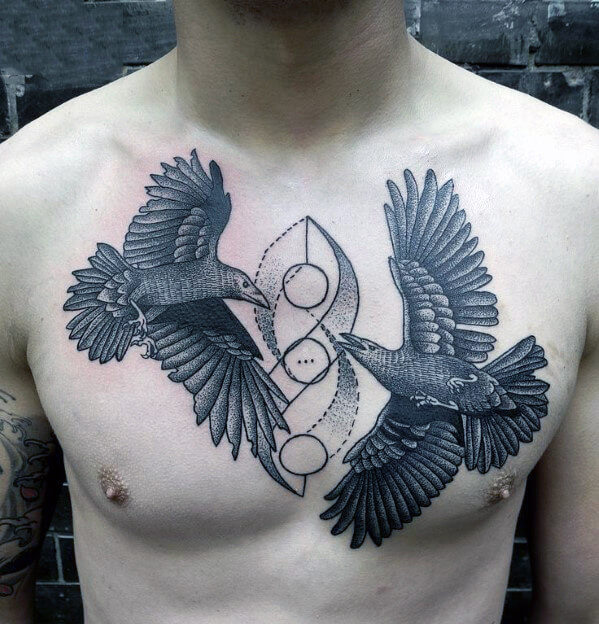 bird-chest-tattoo