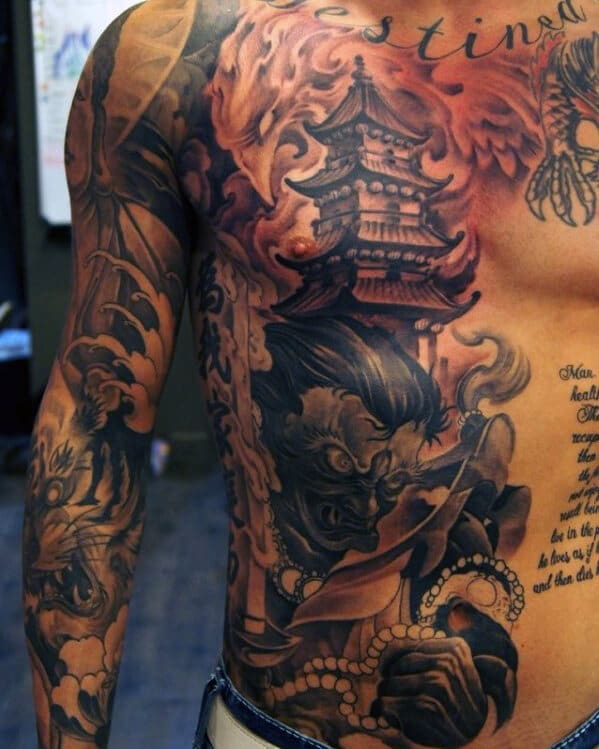 japanese-chest-tattoo-for-men