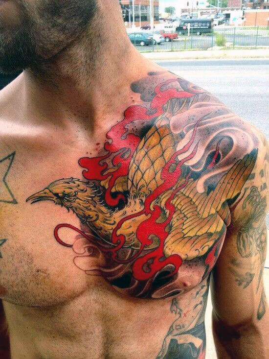 mens-wings-chest-tattoo