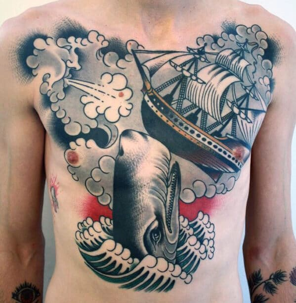 sexy-chest-tattoos-for-men