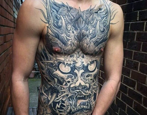 amazing-japanese-dragon-guys-tattoos-on-stomach
