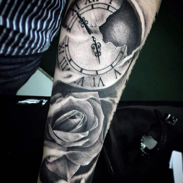 Top 40 Best Flower Tattoos For Men