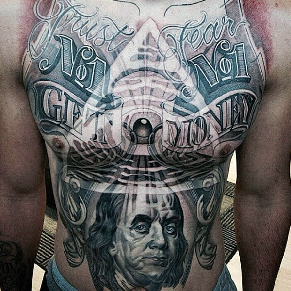 illuminati-all-seeing-eye-money-mens-stomach-tattoo-designs