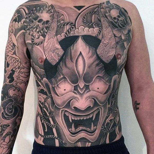 japanese-dragon-male-stomach-tattoos