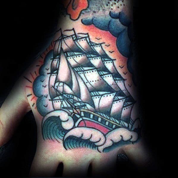 guys-traditional-sailing-ship-tattoo-design-on-hand