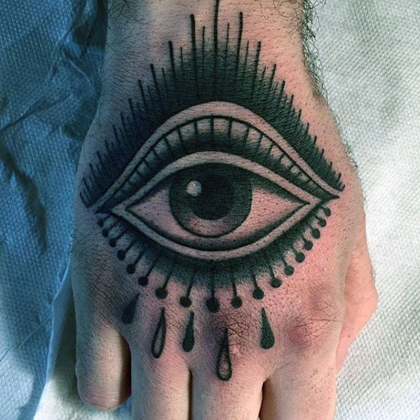 mens-traditional-eye-with-tears-hand-tattoo