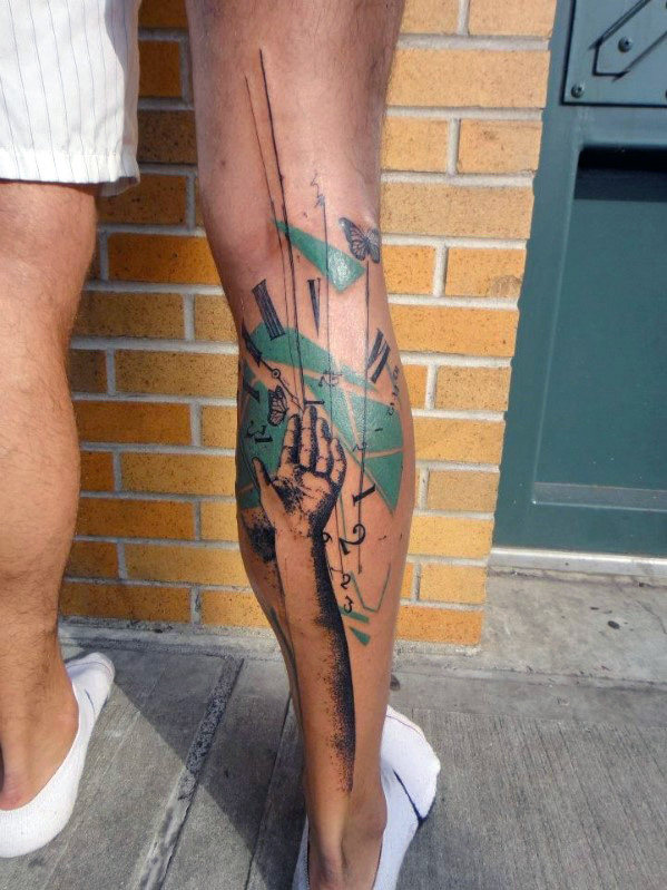 leg-sleeve-tattoo-ideas