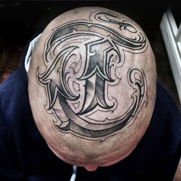 cool-letters-guys-decorative-head-tattoos