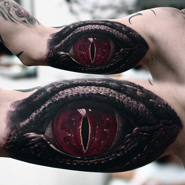 dragon-eye-3d-hyper-realistic-mens-inner-arm-tattoo