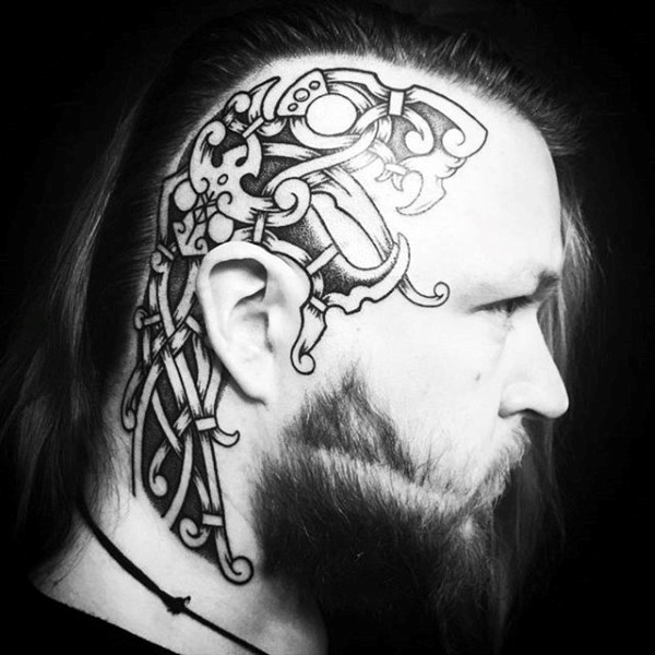 norse-mens-side-of-head-tattoos
