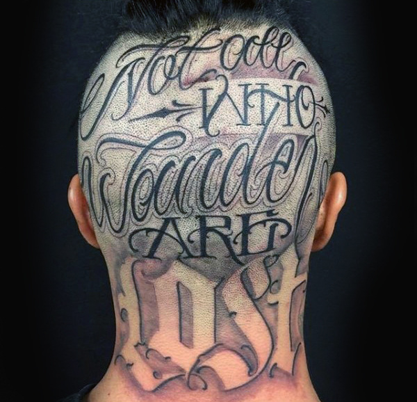 not-all-who-wander-are-lost-mens-words-head-tattoo