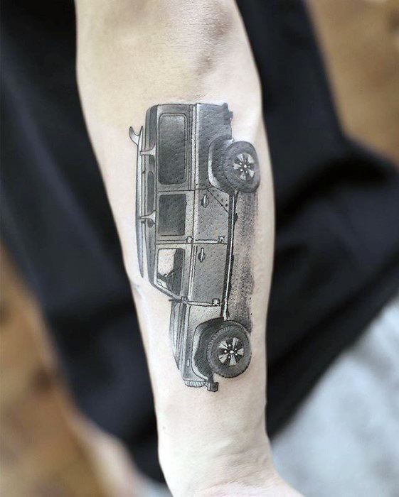 realistic-jeep-mens-outer-forearm-small-unique-tattoos