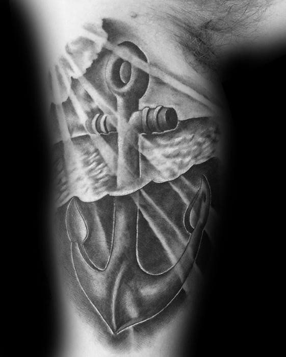 anchor-under-water-3d-mens-inner-arm-bicep-unique-tattoos